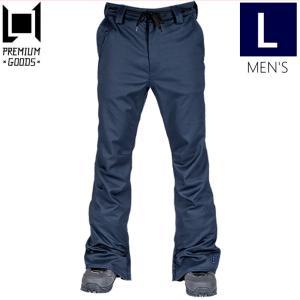 ☆メンズ[Lサイズ] 20 L1 THUNDER PNT カラー:INK エルワン スキー スノーボードウェア メンズパンツ 細身 サンダーパンツ PANT|off-1