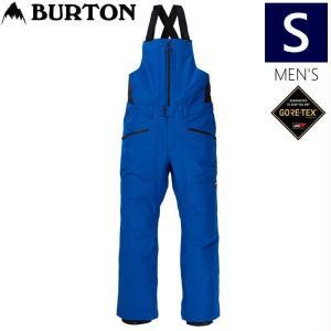 ◆Sサイズ 20-21 BURTON GORE-TEX RESERVE BIB PNT LAPIS BLUE バートン メンズ スノーボードウェア ゴアテックス ビブパンツ オーバーオール|off-1
