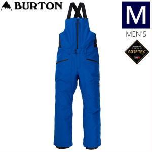 ◆Mサイズ 20-21 BURTON GORE-TEX RESERVE BIB PNT LAPIS BLUE バートン メンズ スノーボードウェア ゴアテックス ビブパンツ オーバーオール|off-1