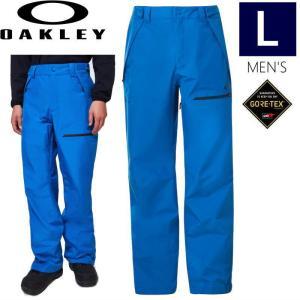 ◆ 20-21 OAKLEY BUCKEYE GORE-TEX SHELL PNT カラー: NUCLEAR BLUE Lサイズ オークリー スノーボードウェア ゴアテックス メンズ パンツ スキー スノボ|off-1