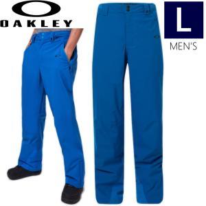 ◆ 20-21 OAKLEY CEDAR 2.0 BZI PNT カラー: NUCLEAR BLUE オークリー スノーボードウェア メンズ パンツ スキーウエア Lサイズ 2020−2021 日本正規品|off-1