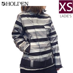 □ HOLDEN MATADOR JKT カラー:BLACK STRIPE XSサイズ ホールデン スキー スノーボード レディースウェア ジャケット off-1