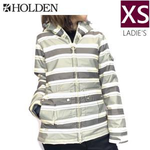 □ HOLDEN NESTA JKT カラー:CANVAS STRIPE XSサイズ ホールデン スキー スノーボード レディースウェア ジャケット off-1