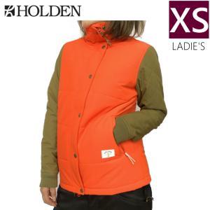 ◇ HOLDEN Klara JKT カラー:TOMATO ORANGE OLIVE XSサイズ ホールデン スキー スノーボード レディースウェア ジャケット off-1