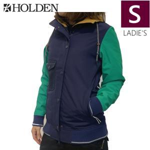 ○ HOLDEN Ashland Varsity JKT カラー:Ink Emerald Sサイズ ホールデン スキー スノーボード レディースウェア ジャケット off-1