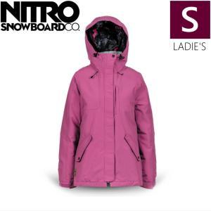 ★ 18-19 NITRO FJALLKONA JKT カラー:Smoked Pink Sサイズ ナイトロ スキー スノーボード レディースウェア ジャケット off-1