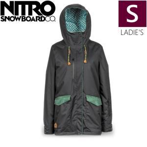 ★ 18-19 NITRO AARAN JKT カラー:Black Sサイズ ナイトロ スキー スノーボード レディースウェア ジャケット off-1