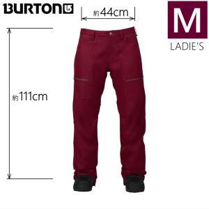 ●レディース[Mサイズ] BURTON CHANCE PNT カラー:SANGRIA バートンのスノーボードウェア チャンスパンツ ウーマンズパンツ PANT レギュラーフィット|off-1