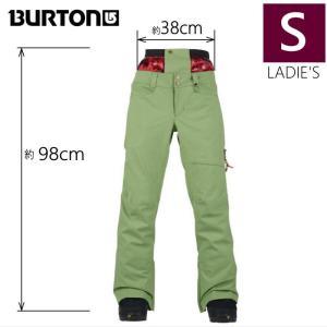 ●レディース[Sサイズ] BURTON ZIPPY PNT カラー:GREEN EYES バートンのスノーボードウェア 人気モデルのパンツ スリムフィットでスタイルアップ 足長効果♪|off-1