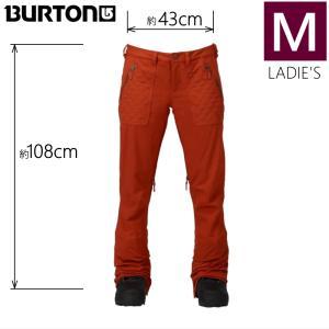 ●レディース[Mサイズ] BURTON VIDA PNT カラー:PICANTE バートンのスキースノーボードウェア スリムフィットのビーダパンツ 細身パンツ スタイルアップ|off-1