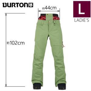 ●レディース[Lサイズ] BURTON ZIPPY PNT カラー:GREEN EYES バートンのスノーボードウェア 人気モデルのパンツ スリムフィットでスタイルアップ 足長効果♪|off-1