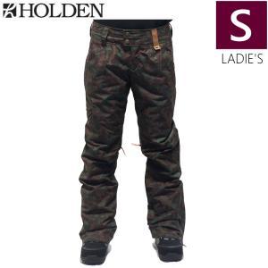 ◇ HOLDEN Holladay PNT カラー:CAMO Sサイズ ホールデン スキー スノーボードウェア レディースパンツ 型落ち|off-1