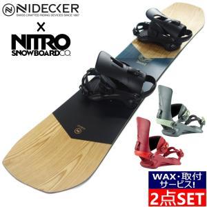 20-21 NIDECKER ESCAPE + 20-21 NITRO RAMBLER メンズ スノーボード 板 ビンディング バインディング 2点セット ナイデッカー 二デッカー ナイトロ 日本正規品|off-1