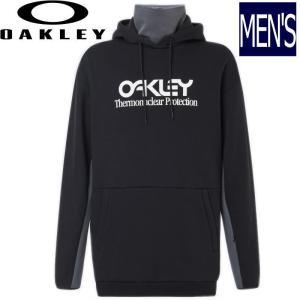 ◆ 20-21 OAKLEY TNP DWR  FLEECE HOODY カラー: BLACKOUT オークリー スノーボード スキー インナーウェア プルオーバー パーカー フード|off-1
