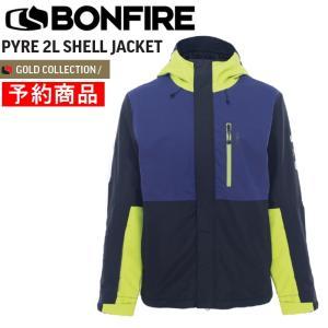 【早期予約商品】21-22 BONFIRE PYRE SHELL JACKET ボンファイヤー スノーボードウェア メンズ  シェルジャケット JKT 日本正規品 off-1