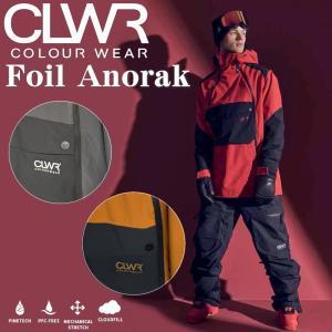 【早期予約商品】21-22 CLWR FOIL ANORAK JACKET カラーウェア スノーボードウェア フリースキーウェア メンズ アノラックジャケット  日本正規品 off-1