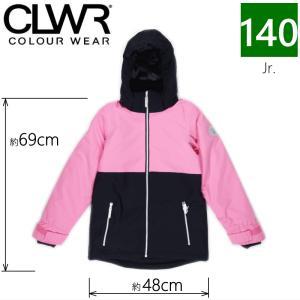 【ラス1】○キッズ ジュニア[140cmサイズ]CLWR SLICE JKT/Bubblegum スキースノボードウェアブランド【カラーウェア】のジュニアジャケット キッズ 子供用|off-1