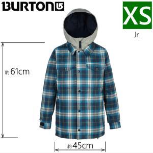 ◎キッズ ジュニア[XSサイズ]18 BURTON BOYS UPROAR JKT カラー:Mood Indigo Jachson バートン スノーボードウェア 子ども用 雪遊び 型落ち 日本正規品|off-1