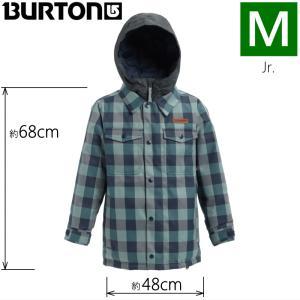 ★Mサイズ 19 BURTON BOYS UPROAR JKT カラー:MOOD INDIGO BUFFALO バートン キッズ ジュニア スノーボードウェア ジャケット ジャケット|off-1