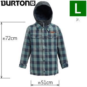 ★Lサイズ 19 BURTON BOYS UPROAR JKT カラー:MOOD INDIGO BUFFALO バートン キッズ ジュニア スノーボードウェア ジャケット ジャケット|off-1