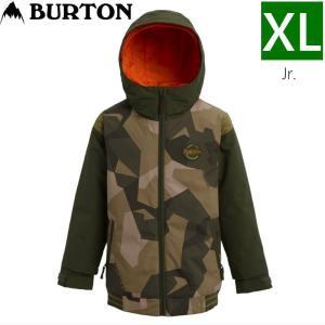 ☆XLサイズ 20 BURTON GAMEDAY JKT カラー:THREE CROWNS CAMO バートン キッズ ジュニア スキースノーボードウェア ジャケット ジャケット ウェア|off-1