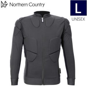 ★[Lサイズ]NORTHERN COUNTRY UNISEX BODY PROTECTOR NA-9315 カラー:BK ノーザンカントリー スノーボード スキー ボディー プロテクター 男女兼用|off-1