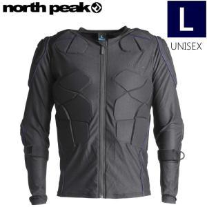 ★[Lサイズ]NORTH PEAK UNISEX BODY PROTECTOR NP-1147 カラー:BK NV ノースピーク ボディープロテクター 男女兼用モデル|off-1