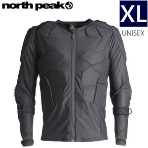 ★[XLサイズ]NORTH PEAK UNISEX BODY PROTECTOR NP-1147 カラー:BK NV ノースピーク ボディープロテクター 男女兼用モデル|off-1