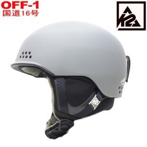 ○メンズ[L/XLサイズ]K2 RIVAL カラー:GRAY 男性用大人ケーツーヘルメットシンプル軽量化された耐久性・快適性に優れてたメットライヴァル|off-1