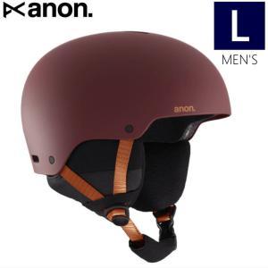 ☆メンズ[Lサイズ]20 ANON RAIDER 3 ASIAN FIT カラー:DOA RED バートン アノン ヘルメット ライダー プロテクター スキー スノーボード アジアンフィット|off-1