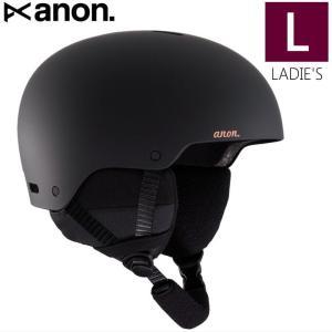 ☆レディース[Lサイズ]20 ANON GRETA 3 ASIAN FIT カラー:BLACKアノン ヘルメット グレタ プロテクター 女性用 スキー スノーボード アジアンフィット|off-1