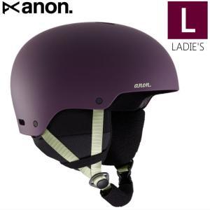 ☆レディース[Lサイズ]20 ANON GRETA 3 ASIAN FIT カラー:PURPLE アノン ヘルメット グレタ プロテクター 女性用 スキー スノーボード アジアンフィット|off-1