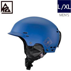 K2 THRIVE カラー MIDNIGHTBLUE ケーツー スライヴ メンズ 大人用 スキー スノーボード 自転車 ヘルメット 型落ち プロテクター L/XLサイズ|off-1