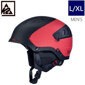 K2 DIVERSION カラー BLACK RED ケーツー ディヴァージョン メンズ 大人用 スキー スノーボード 自転車 ヘルメット 型落ち プロテクター L/XLサイズ|off-1