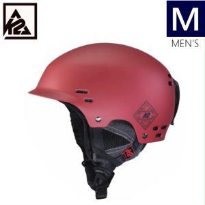 K2 THRIVE カラー DEEPRED ケーツー スライヴ メンズ 大人用 スキー スノーボード 自転車 ヘルメット 型落ち プロテクター Mサイズ|off-1