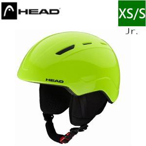 HEAD MOJO カラー LIME ヘッド キッズジュニア 子供用 スキー スノーボード ヘルメット 型落ち プロテクター S/XSサイズ|off-1