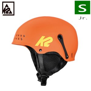 K2 ENTITY カラー:ORANGE ケーツー エンティティー キッズジュニア 子供用 スキー スノーボード 自転車 ヘルメット 型落ち プロテクター Sサイズ|off-1