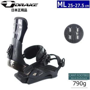 ★[MLサイズ]19 DRAKE SUPERSPORT カラー:BLACK スノーボードビンディング|off-1