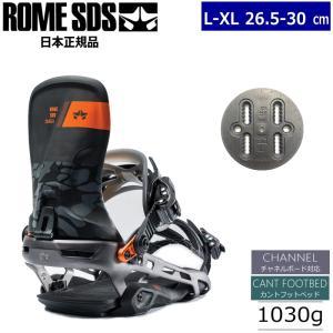 ★[L-XLサイズ]19 ROME SDS TARGA カラー:BLACK CAMO ローム タルガ スノーボード ビンディング バインディング メンズ 日本正規品|off-1