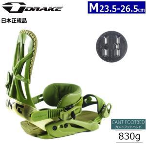 18-19 DRAKE FIFTY カラー:ARMY GREEN Mサイズ ドレイク フィフティー スノーボード ビンディング バインディング 型落ち 旧モデル 日本正規品|off-1