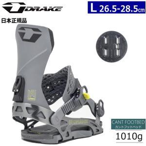 19-20 DRAKE RADAR カラー:DARK GREY Lサイズ ドレイク レーダー スノーボード ビンディング バインディング 型落ち 旧モデル 日本正規品|off-1