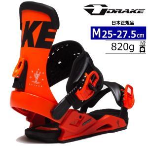 【早期予約商品】21-22 DRAKE RELOAD LTD カラー:NEON ORANGE MLサイズ メンズ スノーボード バインディング ビンディング ドレイク リロード 日本正規品|off-1