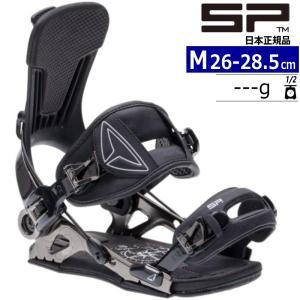 【早期予約商品】21-22 SP UNITED SLAB.ONE カラー:BLACK Mサイズ スノーボード バインディング メンズ エスピー エスラブワン 日本正規品|off-1
