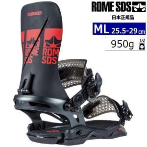 【早期予約商品】21-22 ROME SDS KATANA カラー:BLACK RED MLサイズ メンズ スノーボード バインディング ビンディング ローム カタナ 日本正規品|off-1