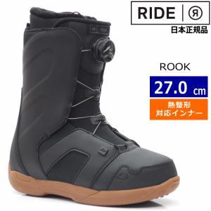 ○[27.0cm] RIDE ROOK カラー:BLACK ...