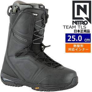 20-21 NITRO TEAM TLS カラー:BLACK ナイトロ チーム スノーボードブーツ スピードレース EU38 2/3[25.0cm]|off-1