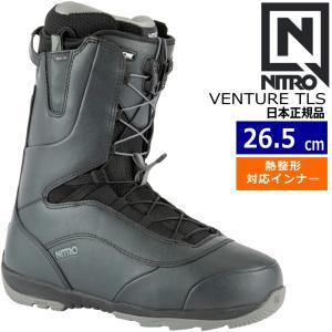 20-21 NITRO VENTURE TLS カラー:BLACK ナイトロ ベンチャー メンズ スノーボードブーツ スピードレース クイックレース EU40 2/3[26.5cm]|off-1