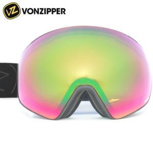 ★VONZIPPER JETPACK カラー:BSW BLACK SATIN レンズ:WILDLIFE&WILDLIFE LOW LIGHT ボンジッパー ジェットパック スキー・スノーボード用ゴーグル off-1