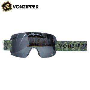 ★VONZIPPER ALT-XM カラー:DNC CHARCOAL SATIN レンズ:WILDLIFE BLACK OUT ボンジッパー 軽量 ハイコントラスト系 レンズ スキー・スノーボード用ゴーグル off-1