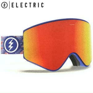 18-19 ELECTRIC EGX PATRIOT BROSE RED CHROME CONTRAST エレクトリック スキー スノーボード ゴーグル 日本正規品|off-1